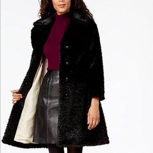 Kate Spade Faux Fur Mink Coat